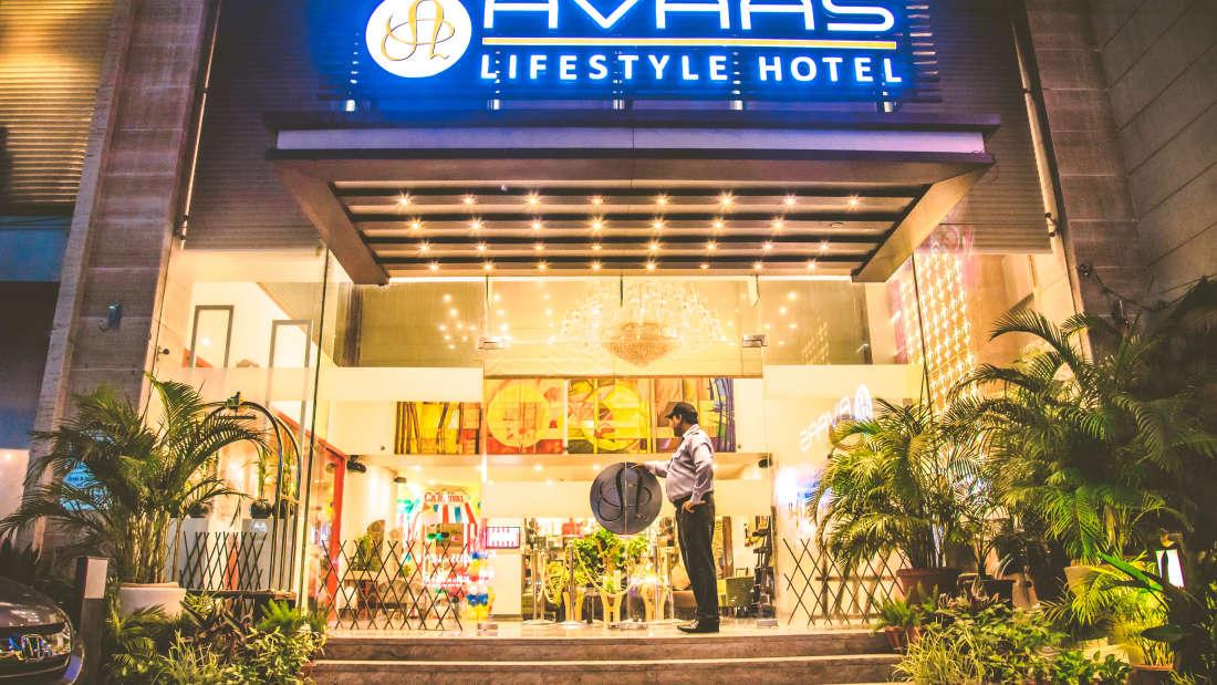 exterior view Avaas Lifestyle- Amritsar Punjab 3
