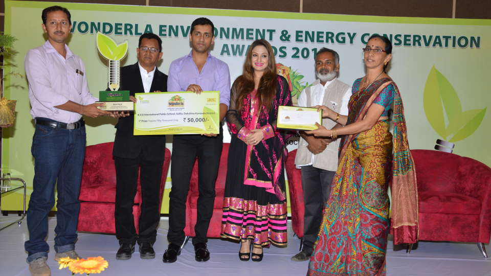 Environment and Energy Conservation Awards at Wonderla Amusement Park