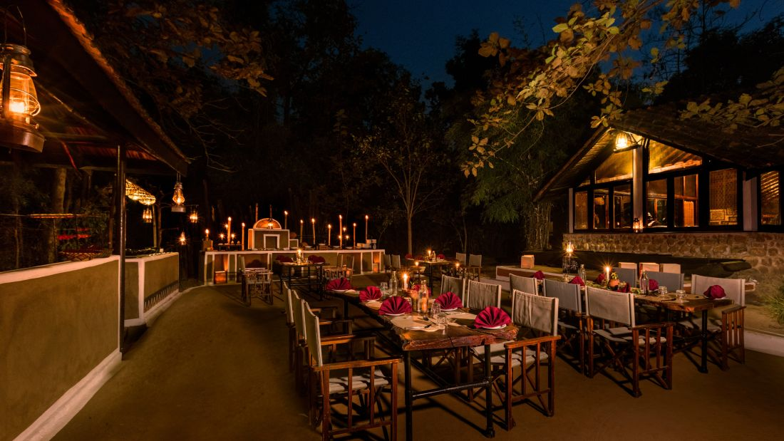 Gol Ghar restaurant in pachmarhi-Reni Pani Jungle Lodge in Satpura5