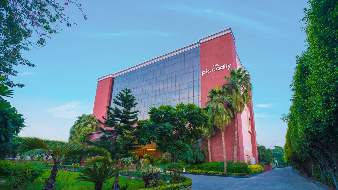 Facade, The Piccadily Lucknow, Business Hotel in Lucknow 1