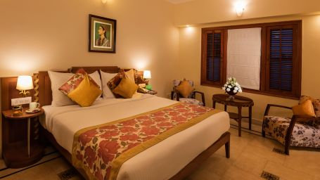 regal rooms at Jehan Numa Palace Bhopal-hotel rooms in Bhopal- bhopal palace