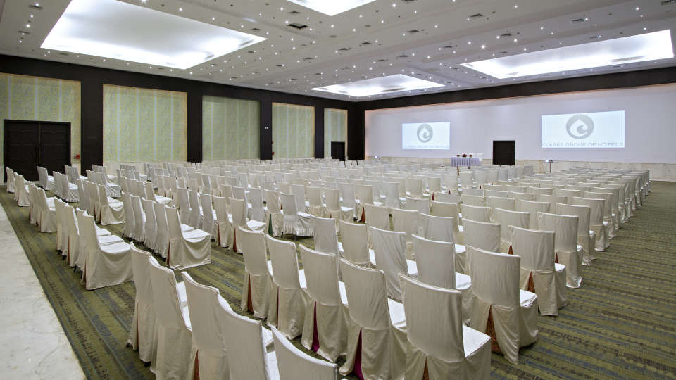 Clarks Brij Convention Center in Clarks Amer 5 star hotel in Jaipur -  Wedding Halls in Jaipur asdfgherer