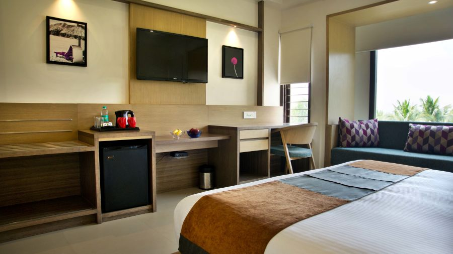 Superior room1 Purple cloud hotel bangalore airport hote