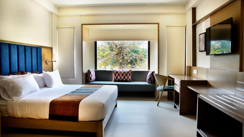 Exe Suites view 2 Purple cloud hotel bangalore airport hote