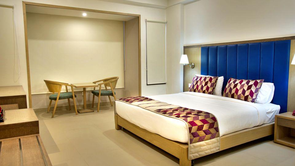 Superior room2 Purple cloud hotel bangalore airport hotel