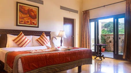 Hill View rooms in Pune, Stay in Pune, Fort Jadhavgadh, Pune