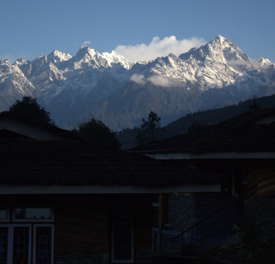 alt-text Mountain view from cottage