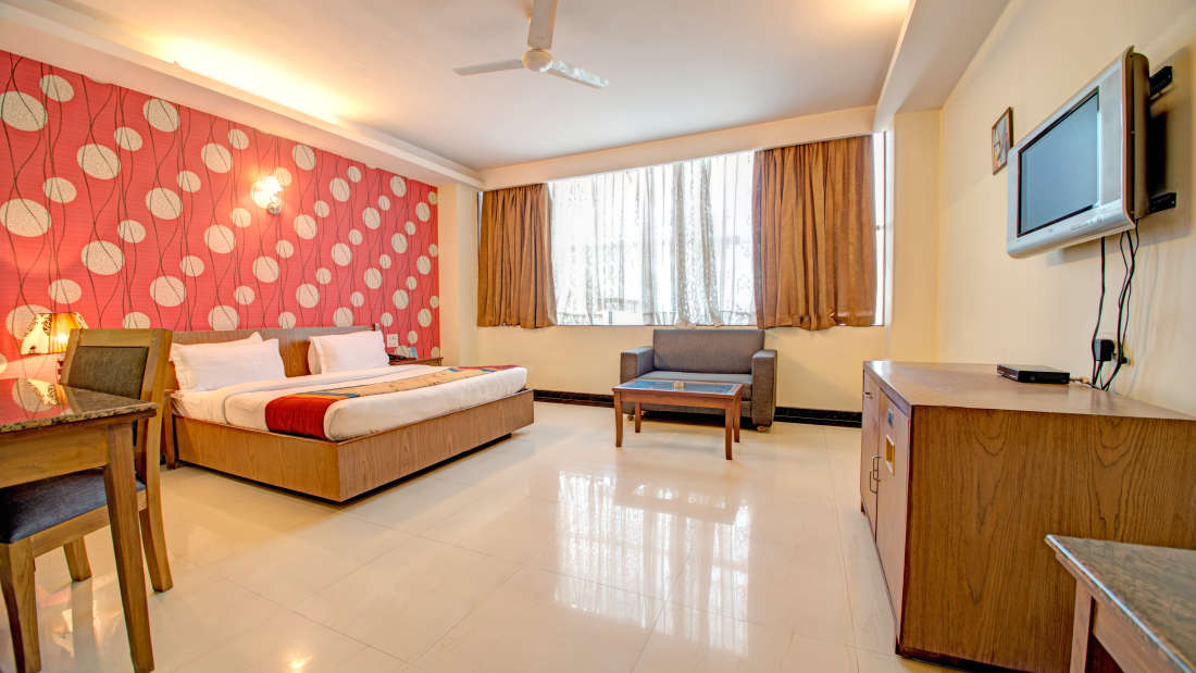 Deluxe Room of Hotel PR Residency Amritsar - Hotels in Amritsar