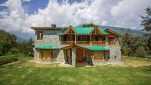 Baragarh Villa Kullu Facade Baragarh Villa Kullu Himachal Pradesh