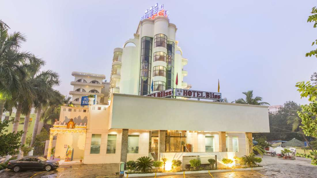 Hotel Bliss Luxury Hotel in Tirupati Online Booking building 1