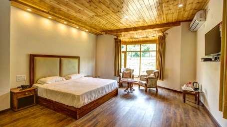 Baragarh Villa Kullu Garden Suite Living Baragarh Villa Kullu Himachal Pradesh
