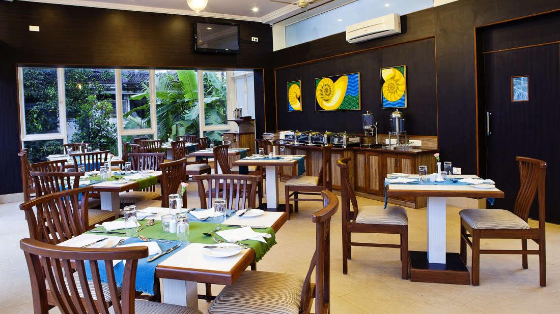 Ocean Palms Goa Nautilus Restaurant of Ocean Palms Goa
