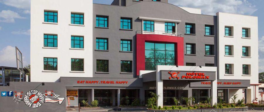 alt-text Exterior Hotel Polo Max Jabalpur