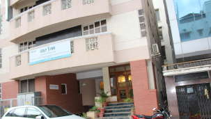 Golf Inn Executive Hotel, Bangalore Bangalore facade 3 golf inn executive hotel near embassy golf links business park