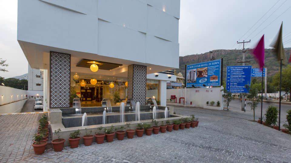 Hotel Pai Viceroy, Tirupati Tirupati Hotel Pai Viceroy Tirupathi Facade