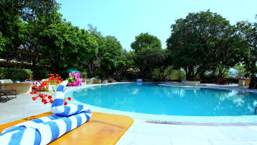 Swimming Pool at Infinity Resorts Corbett, Resort Facilities in Corbett 4