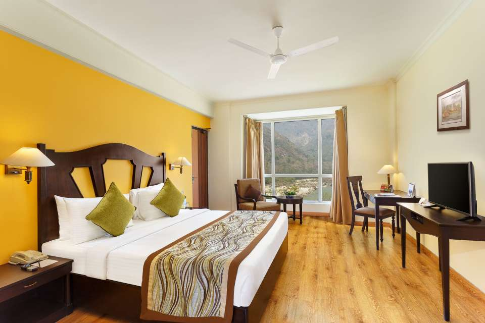 Two Bedroom Standard Apartment GardenHill Facing -Aloha on the Ganges Rishikesh 2 j5nnaj
