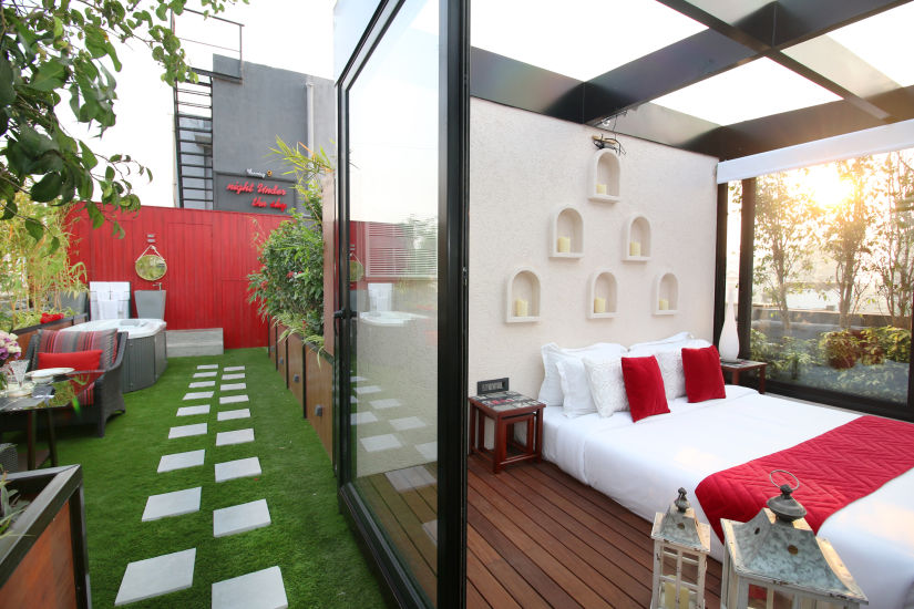 Romantic stay at Theory9 Premium Service Apartments Bandra, best staycation in mumbai 2