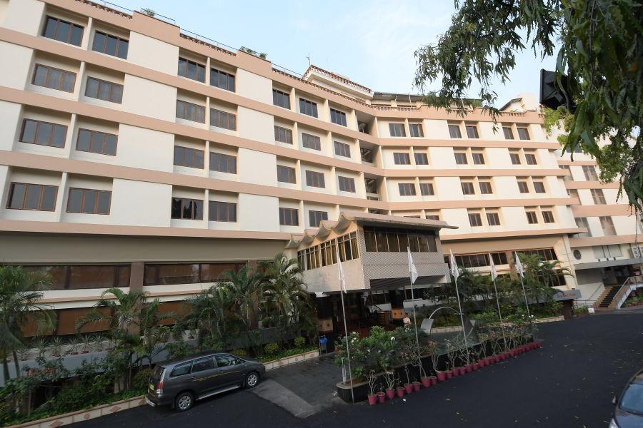 alt-text Facade at Hotel Daspalla Visakhapatnam 1