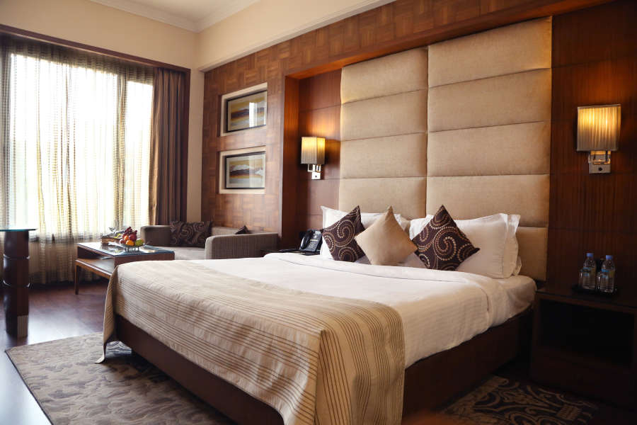 alt-text Standard Rooms at The Bristol Hotel Gurgaon, Best Rooms in Gurgaon 5