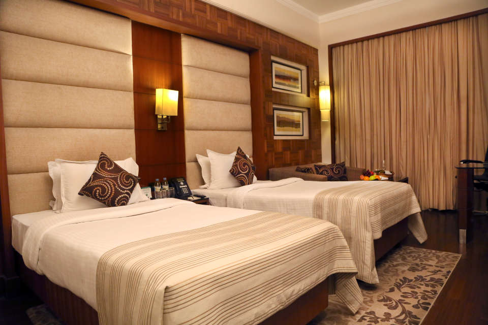Premium Rooms at The Bristol Hotel Gurgaon, Rooms Near Sikanderpur Metro Station