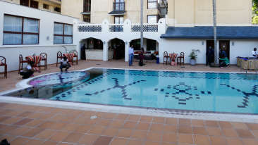 Pool Bar The Heron Portico Hotel in Nairobi 2