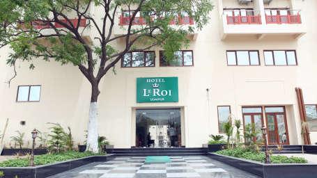 Le ROI Udaipur Hotel Udaipur Entrance of Le ROI Udaipur Hotel