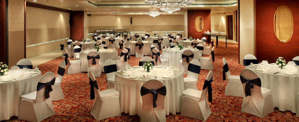 Banquet hall at Mahagun Sarovar Portico Vaishali, best vaishali hotels