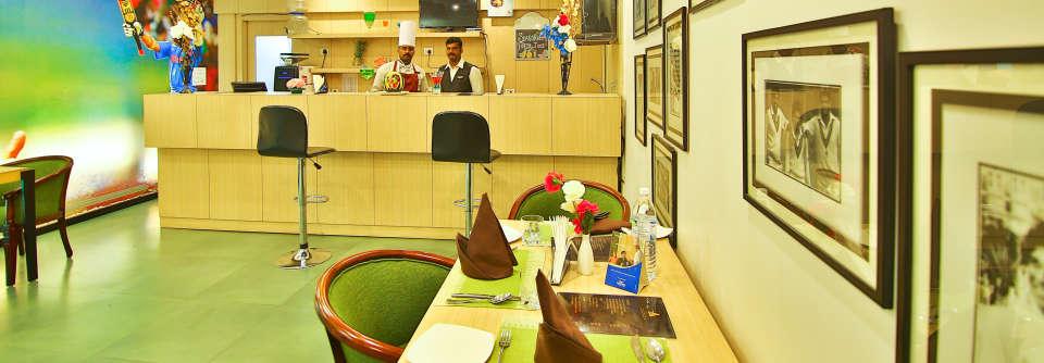 Coffee Shop The Gokulam Park Kochi 1