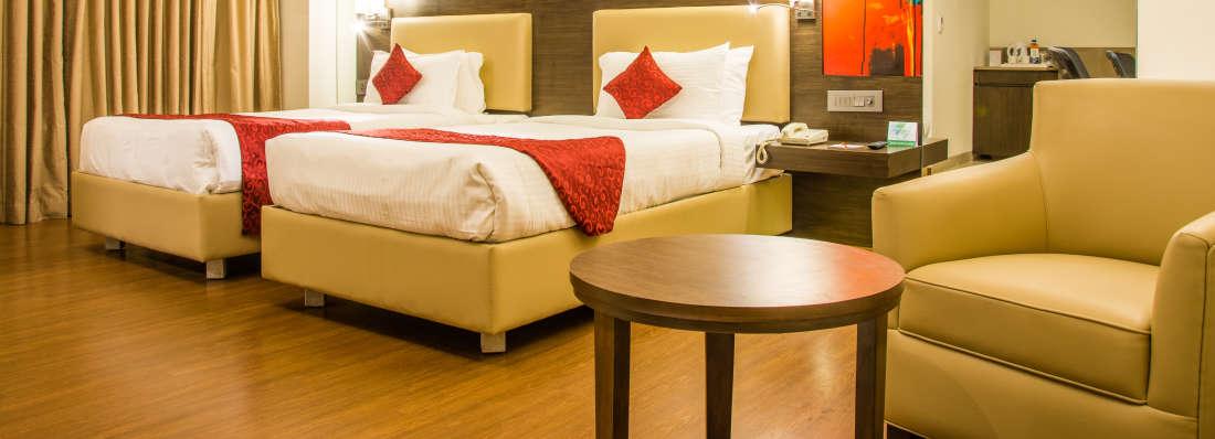 comfort room at V Hotel - Srinagar Vishakhapatnam 4