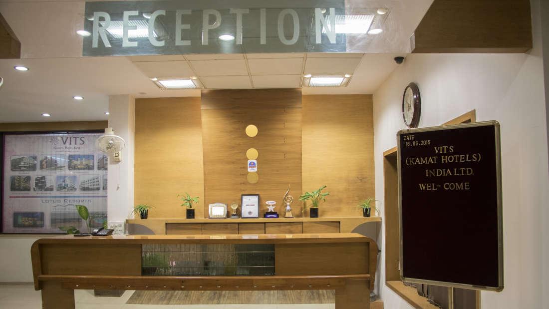 Reception VITS Hotel, Nashik