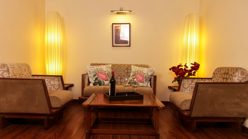 Hotel Polo Towers, Shillong  Executive Suite Room seating Hotel Polo Towers Shillong