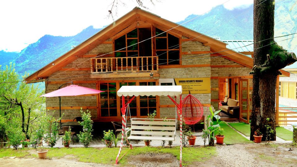 Facade 4, Amara Resorts in Manali, Luxury Resort in Manali. Manali Resort
