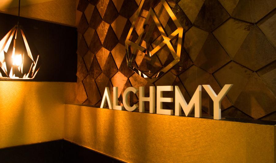 alt-text Alchemy - Signage