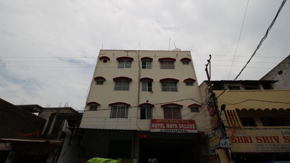Hotel Maya Deluxe, MG Road, Secunderabad Secunderabad Facade Hotel Maya Deluxe MG Road Secunderabad