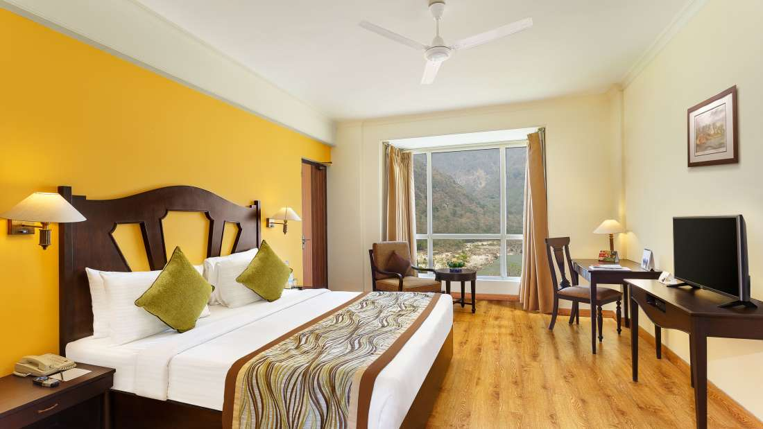 Two Bedroom Standard Apartment GardenHill Facing -Aloha on the Ganges Rishikesh 2 j5nnaj 1