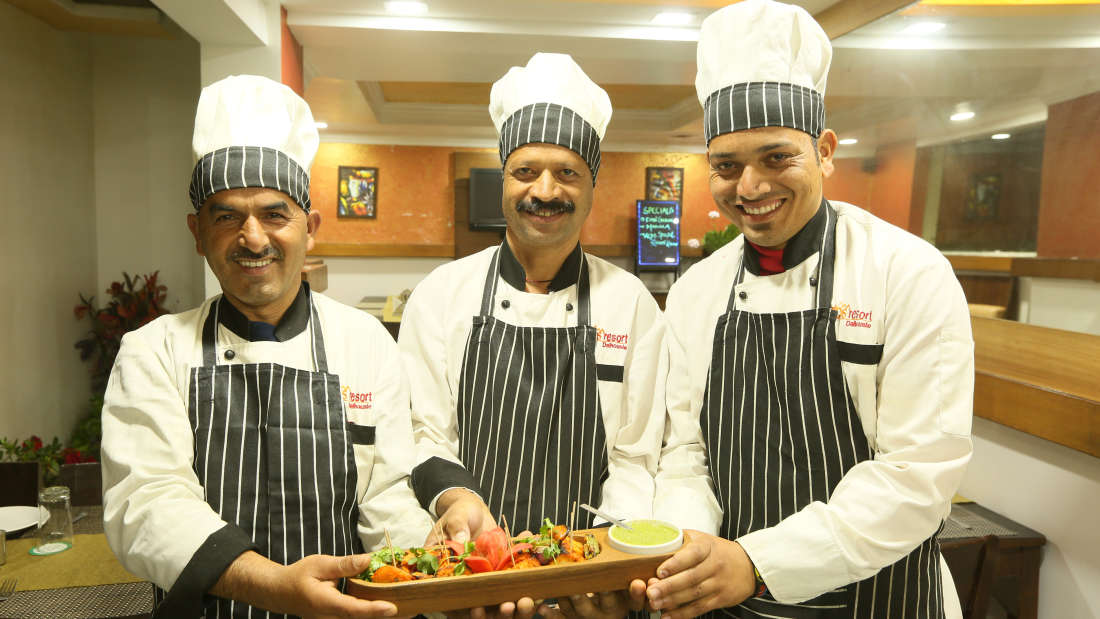Alps Resort Kitchen Team