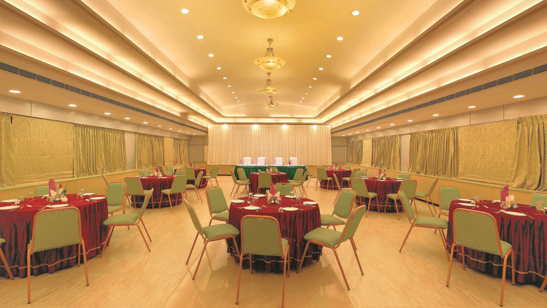 Banqet Hall Biverah hotel and suites Trivandrum Thiruvananthapuram