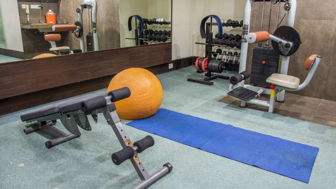 Hotel Bliss Luxury Hotel in Tirupati Online Booking Gym 3