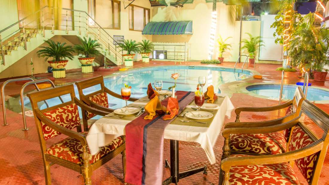 Hotel Bliss Luxury Hotel in Tirupati Online Booking Navrattan Restaurant 1