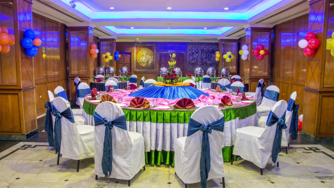 Hotel Bliss Luxury Hotel in Tirupati Online Booking banquet hall 2