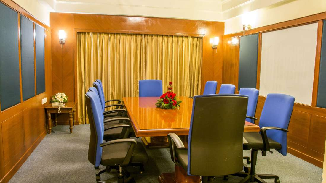 Hotel Bliss Luxury Hotel in Tirupati Online Booking board Room 1