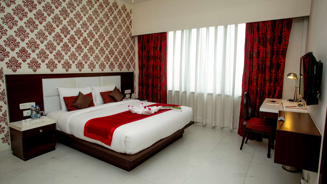 Rooms at Hotel Kanha Shyam Prayagraj