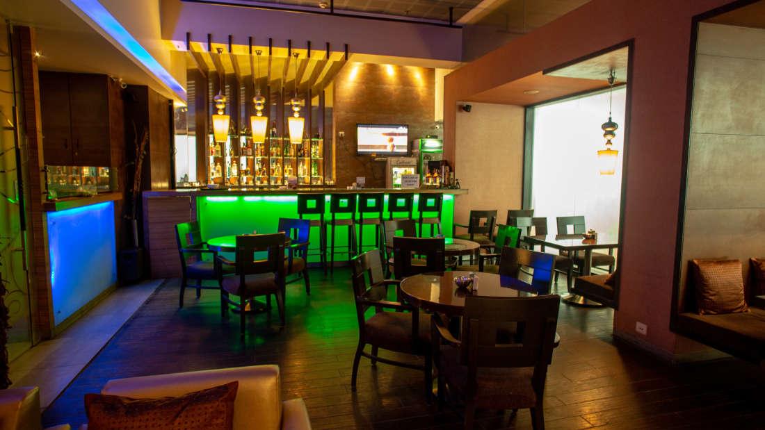 bar of Hotel Kanha Shyam in Prayagraj