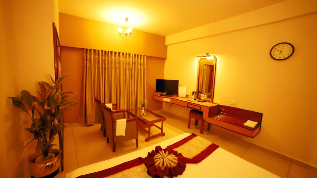 Double Deluxe, Hotel Sindhuri Park, Budget hotel in Tirupati-6-9