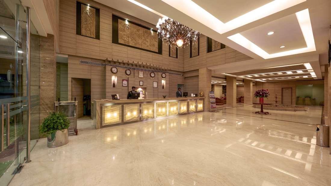 JP Hotel in Chennai JP Hotel Lobby