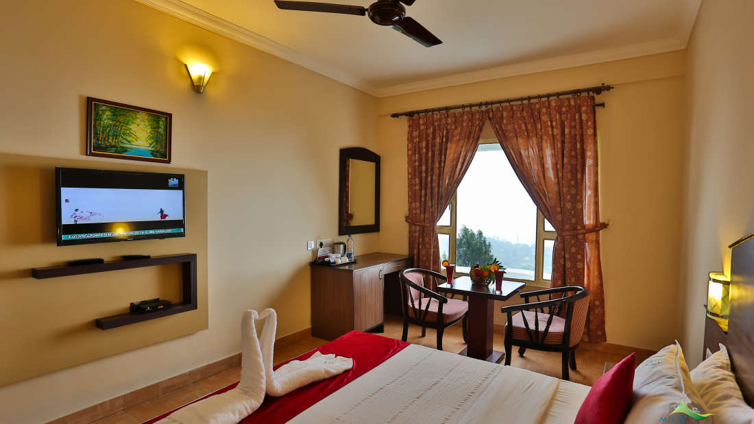 Misty Mountain Resort, Munnar Munnar Valley view room Misty Mountain Resort Munnar 3