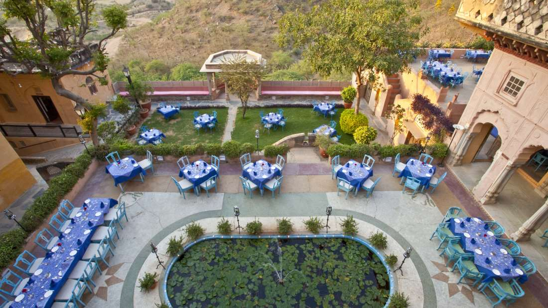 Holi Kund, Neemrana Fort Palace, Rajasthan restaurants 2
