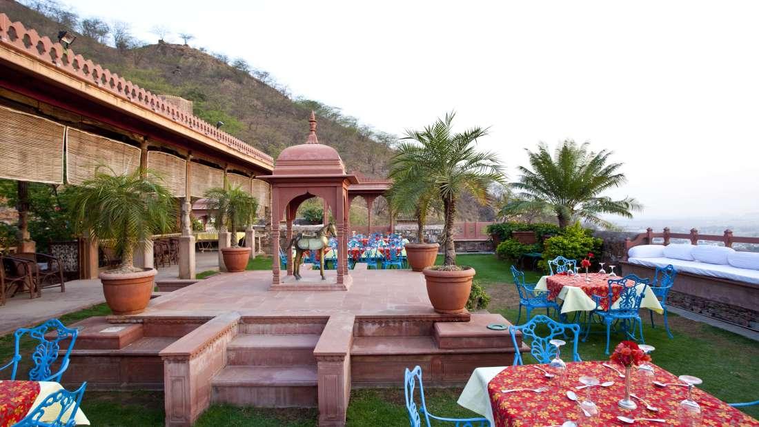 Neemrana Fort Palace Neemrana Mukut Bagh Neemrana Fort Palace Neemrana Rajasthan