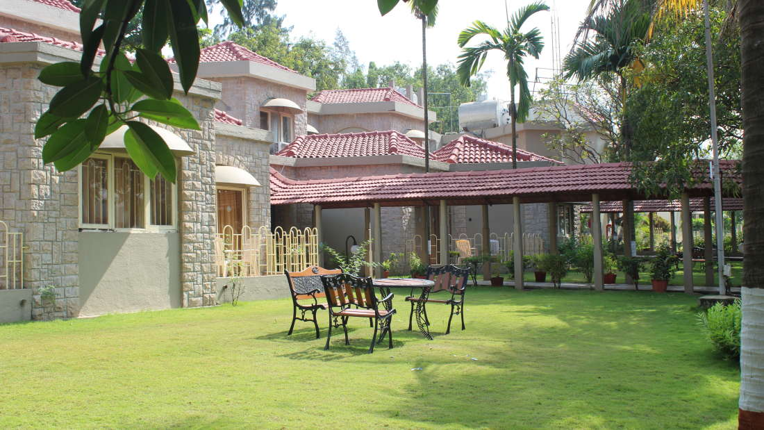 Ras Resorts in Silvassa Facade Lobbies and Temple 8